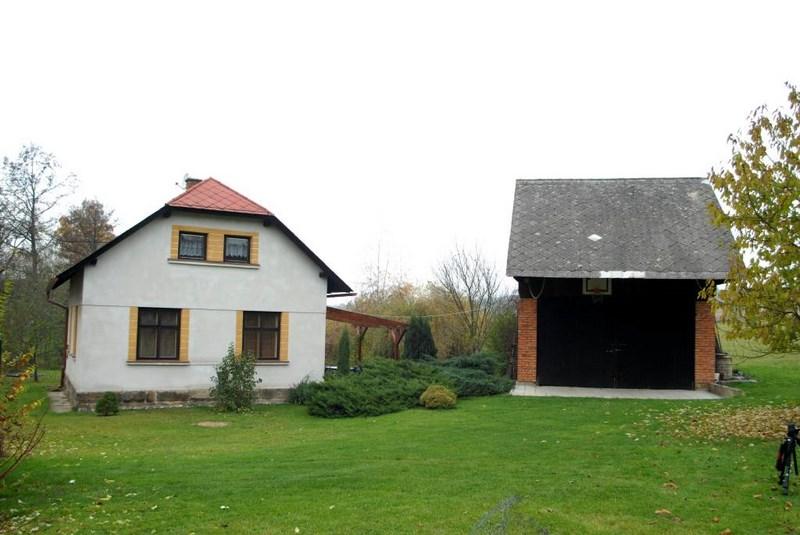 Wochenendhaus – Bílé Poličany, voll eingerichtet